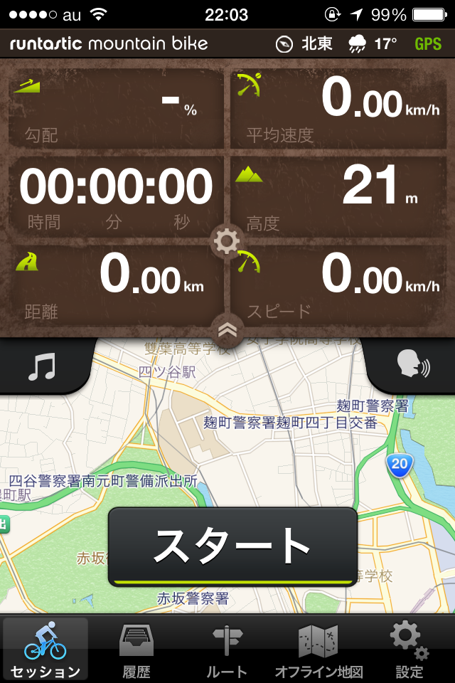 「runtastic Mountain Bike」クール!