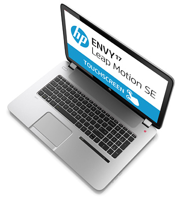 HP ENVY17-j100 Leap Motion SE