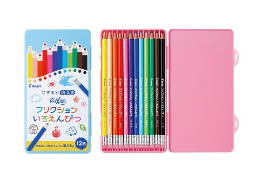 まさかのフリクション色鉛筆!オーパーツか。