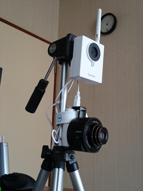 「自宅警備タワー・改」。高画質静止画も撮れるプロ仕様。