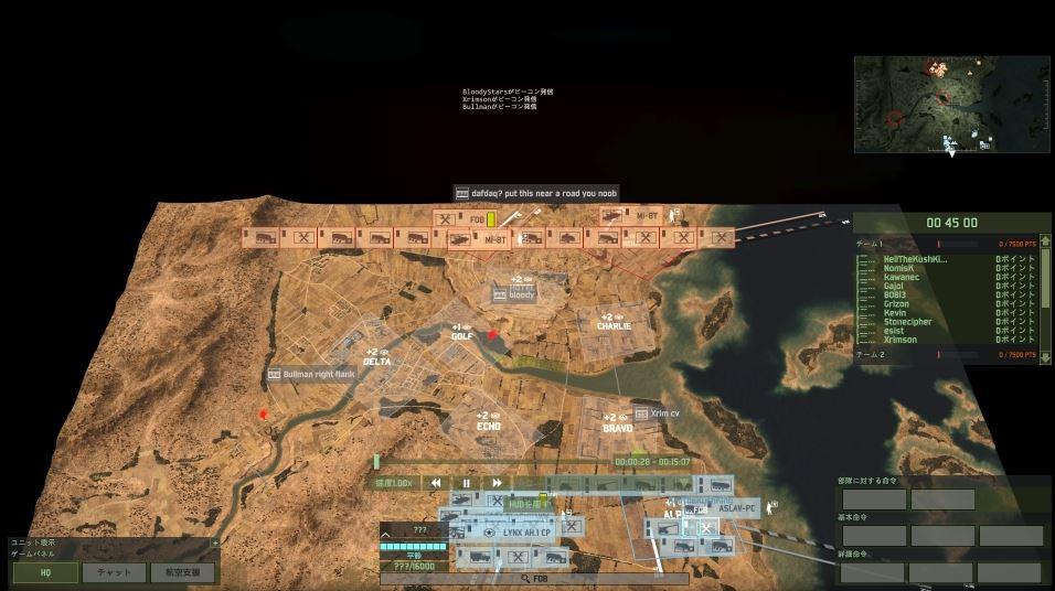 衛星からの俯瞰レベルから・・