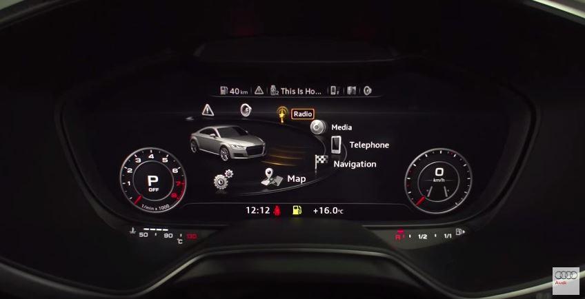 オーディオ、ナビ、車の周辺情報、コミュニケーションなどなどすべてが統合されている