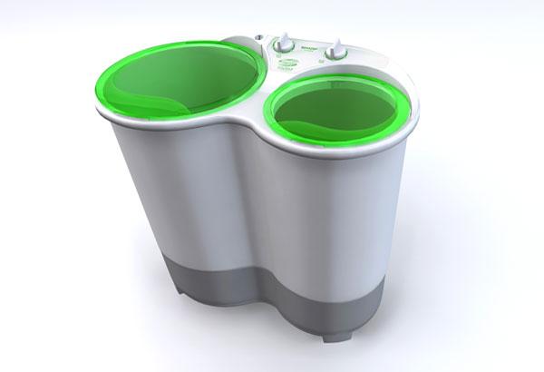 シャープ 「Double Washer」